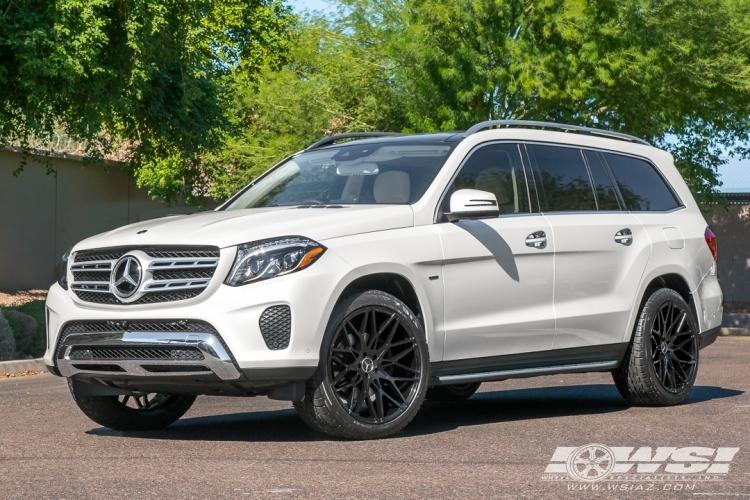 "2019 Mercedes-Benz GLS/GL-Class with 22"" Koko Kuture Funen ..."